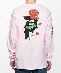 3e7161260d71c Primitive Heartbreakers Pink Long Sleeve T-Shirt