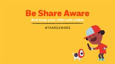 NSPCC Share Aware campaign (Jan 2015) We tell our children it's good to share – but online it can be different.  In fact sometimes sharing online can be dangerous. That's why we're asking parents to be #ShareAware and help keep children safe online. Find out more here: http://www.nspcc.org.uk/shareaware?utm_source=pinterest&utm_medium=pin&utm_content=campaigns_board_shareaware&utm_campaign=pinterest_generic