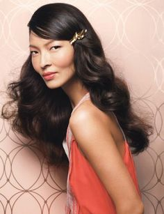 Side swept, brushed out curls. Pretty! http://www.luckymag.com/magazine/2012/05/How-To-Easy-Summer-Hair#slide=1