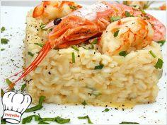 ΡΙΖΟΤΟ ΜΕ ΓΑΡΙΔΕΣ!!! - Νόστιμες συνταγές της Γωγώς! Greek Cooking, Risotto, Shrimp, Meat, Ethnic Recipes, Food, Essen, Meals, Yemek