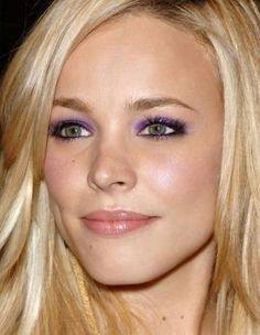 take some inspiration from Rachel McAdam's burst of purple