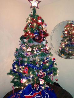 Christmas Tree Bill.Buffalo Bills At The Holidays