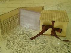 Dia dos pais... Carteira masculina e caixa.para gravata  cartonagem