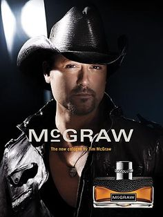 McGraw by Tim McGraw - one of my fav mens colognes!  Just ask my dad!