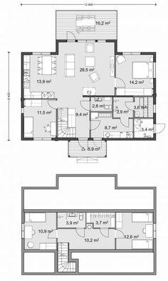 Finland, Villa, Floor Plans, Flooring, How To Plan, Wood Flooring, Fork, Villas, Floor Plan Drawing