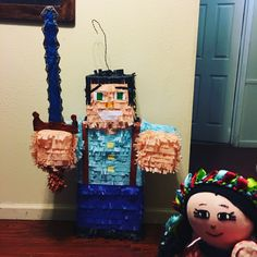 Minecraft Pinata, Birthday Candles