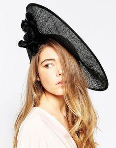 Image 1 - Elegance - Chapeau à disque avec fleur et plume