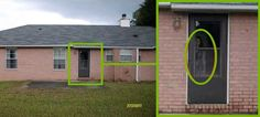 A Florida man was browsing real estate listings this week when he noticed something strange in one of the listing photos. He posted the odd image of the foreclosed home on Reddit yesterday.