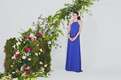 Joanna August Blue Dress