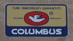 Set 8 Columbus SLX  Bicycle Decal Transfer Sticker