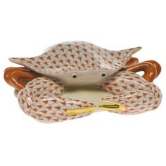 Herend Crab Figurine | Sea Life Collectibles | Herend Figurines | Collectibles | ScullyandScully.com