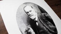 Sigmund Freud Pen Pointillism