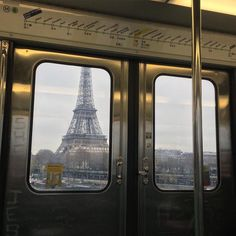 Next station: Eiffel Tower in Paris
