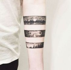 Brazalete paisajes Tattoo Band, Kite Tattoo, Tattoo You, Dot Tattoos, Small Tattoos, Wrist Tattoos, Sleeve Tattoos, Tattoos For Guys, Body Art Tattoos