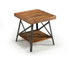 ONE IN STOCK - Chambers End Table: 22L x 24W x 22H- Rent: $28; Buy: $189