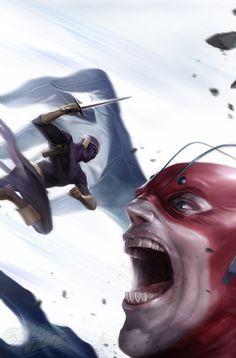 Avengers Undercover #9 - Baron Zemo vs. Giant Man by Francesco Mattina