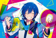 Vocaloid Kaito, Kaito Shion, Vocaloid Cosplay, Blue Hair Anime Boy, Drawing People, Anime Guys, Super Cute, Fan Art, Manga