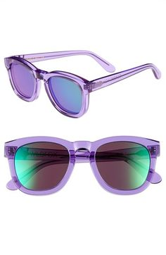 Love the translucent lavender frame! Wildfox 'Classic Fox - Deluxe- Nordstrom