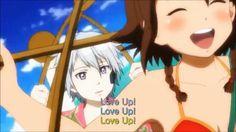 러브 업(Love Up)-김사랑(Kim Sarang), 신나는 리믹스, 취성의 가르간티아 애니뮤비 [CRAMV-049, Pt.4]