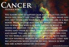 hidden side of cancer zodiac Capricorn Aquarius Cusp, Capricorn Quotes, Capricorn Facts, Zodiac Quotes, Capricorn Girl, Astrology Signs, Zodiac Signs, Cancer Horoscope, Zodiac Cancer