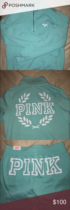 PINK outfit Sweater size XS joggers size small brand new never worn sweater 55 joggers 50 PINK Victoria's Secret Tops Sweatshirts & Hoodies