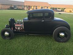 1931 Model A ford Coupe on 1932 frame.