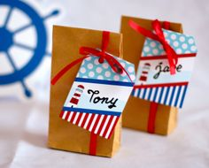 Nautical party favors #nautical #partyfavors