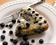 Gourmet Girl Cooks: Chocolate Chip-Blueberry Skillet Pancake - New Recipe!