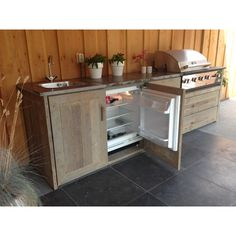 Outdoor kitchen Rijnsburg You are in the right place about Outdoor Kitchen Bars modern Here we offer Small Outdoor Kitchens, Outdoor Bbq Kitchen, Outdoor Cooking, Outdoor Mini Fridge, Backyard Kitchen, Outside Living, Outdoor Living, Built In Grill, Mini Kitchen