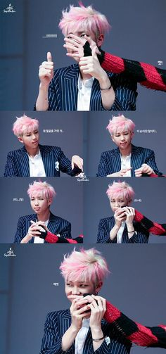 Rap monster and kookie's hand XD