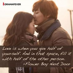 50 K-drama quotes about true love <3 Flower Boy Next Door
