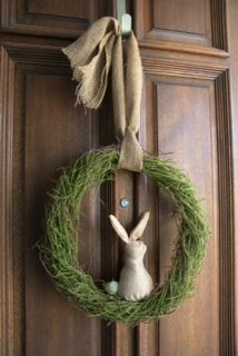 Easter Wreath...my newest creation.