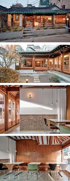 [No.224 호호식당] 한옥 개조 레스토랑 인테리어, 한옥 식당, 일본 가정식, 대학로, 한옥레스토랑