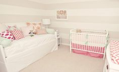 Love the idea of a daybed in a nursery one day