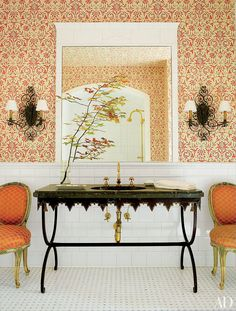 Brass Accents Decorating Inspiration Photos   Architectural Digest
