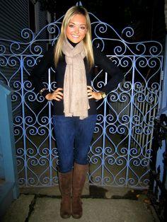 Autumn Attire 1-- I love that scarf