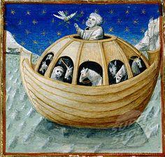 Noahs Ark (Detail) 15th C. Newberry Library