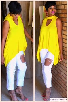 Miss Sunflower Fashion Wear, Fashion Outfits, Womens Fashion, African Tops, Piece Of Clothing, Cute Shirts, Plus Size Fashion, Autumn Fashion, Casual Outfits