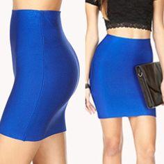 Royal Blue Bandage Skirt (S) Royal Blue Bandage Skirt (S) Skirts