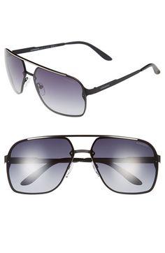 Carrera Eyewear 64mm Navigator Sunglasses available at #Nordstrom