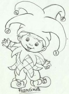Bebe Outline Drawings, Cartoon Drawings, Pencil Drawings, Precious Moments Coloring Pages, Painting Templates, Christmas Templates, Coloring Book Pages, Coloring For Kids, Drawing People