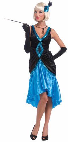Betty Blue Flapper Costume - Flapper Costumes