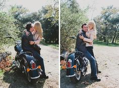motorcycle engagement pictures | ... their adorable engagement pictures courtesy of cami jane photography