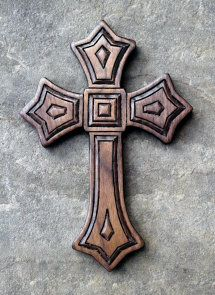 Beautiful carved crosses, lots of styles