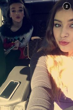 Kalani and Kendall this picture was on kalani's snapchat