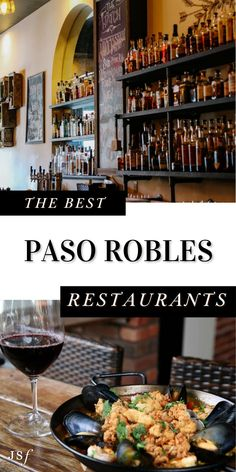 Calling all foodies! If you happen to find yourself in Paso Robles and are looking for a fabulous dining experience, check out my guide to Paso Robles Best Restaurants! With a variety of choices and different styles of cuisines, Paso Robles has a great selection for anyone and everyone. I hope you enjoy! California Restaurants, California Destinations, Restaurant Offers, Wine Recipes, Mexican Food Recipes, Great Recipes, Wine Bistro, From Farm To Table