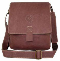 Vintage MEN Genuine Cowhide Leather Case Shoulder School BAG Satchel NEW Ipad | eBay