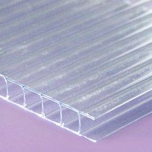10mm Clear Twinwall Polycarbonate Sheet Polycarbonate Panels Patio Roof Polycarbonate