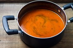 Simple and scrumptious, this Low Fodmap Tomato Soup recipe is as delicious on its own as it is dunked with a grilled cheese. It's also plant-based and whole 30 compliant!