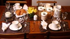 A mesa do café da manhã no dia a dia - BBel :: Tudo sobre decoração e organização da sua casa